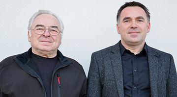 Firmenchefs Johann und Christian Dittrich