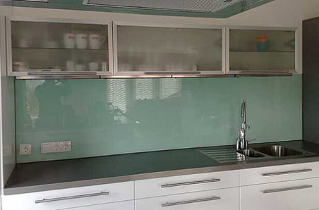 Spritzschutz Glas Küche mit schöne stil für ihr haus ideen